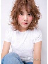 ヘアクリエイト ピアル(Hair Create Piar)【piar】可愛いルーズウェーブなミディー