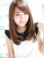 """アグ ヘアー ナイン 東三国店(Agu hair nine)""""王道""""内巻きセミロングヘア☆"""