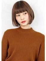 ヘアサロンガリカアオヤマ(hair salon Gallica aoyama)☆ ナチュラルグレージュ & 毛束感 ☆小顔ボブ☆