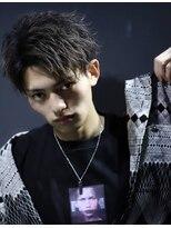 リップス 渋谷(LIPPS)束感短髪センターパートウエストテイルショート