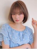 アグ ヘアー フェール 鳳駅前店(Agu hair faire)《Agu hair》涼し気シルエットの夏ショート