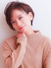 ムーン ティコブラーエ(moon tico brae)エアリーミディ/ショートパーマ/黒髪カタログ/ホワイトアッシュ