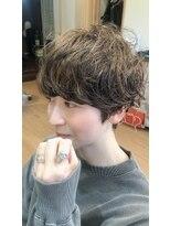 ヘアガーデンプア(Hair Garden Pua)つくし型フェミニンショート