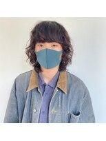 ヘアーアイストゥーレ(HAIR ICI TRE)ウルフパーマ スパイラルパーマ 担当佐藤