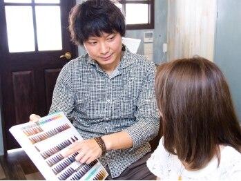 ココアパートメント(Koco apartment)の写真/オーダーメイドでその場で造る生カラー!カラーするたび髪が扱いやすくなったと評判の技術は試す価値アリ★