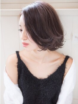 リヴ(live)の写真/【カット+カラー+トリートメント¥5990】カラーのモチがよく髪と肌にこだわった仕上がりに♪プチプラで人気!