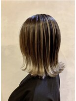 ツミキ ヘアーデザイン(TSUMIKI hair design)外国人風にグラデーション