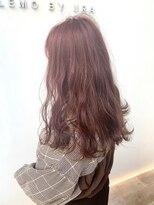 #LEMO #ブリーチなし春カラー #レッドブラウン #ツヤ髪