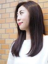 ノエル ヘアー アトリエ(Noele hair atelier)『Noele』大人の艶髪×ヴァイオレットブラウン
