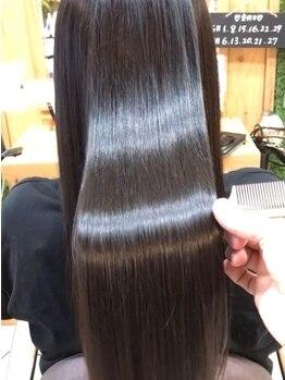 マーブル ヘアー(marble hair)の写真/京田辺◆話題の水素トリートメント,最新トリートメントなど豊富な種類のヘアケアを味わうなら当店にお任せ!