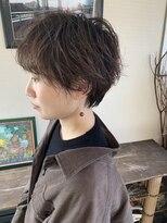 マイ ヘア デザイン(MY hair design)ふわくしゅマッシュショート