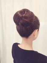 フォーマルまとめ髪