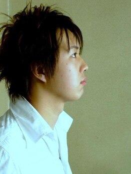 ヘアーサロン 小城(koshiro)の写真/全道大会入賞歴も誇る正確なカットと共にトータルグルーミングする大人の男の為の癒し空間がココに!
