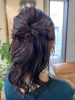 コレットヘア(Colette hair)パーティーセット-ハーフアップ -
