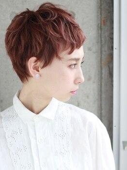 ドアベルヘアリビング(Door Bell hair Living)の写真/心斎橋でショートヘアにするならココ!関西スタイルランキングにランクインするほど人気のショートスタイル