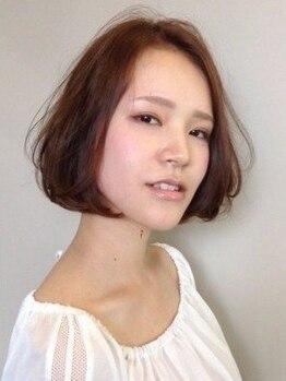 ジャパンジェム 押熊店(Japan gem)の写真/根元の白髪が気になる方には[メンテナンスカラー]が人気♪リーズナブル価格でプロのカラーメンテが可能に☆