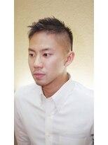 銀座マツナガ 箱崎店(GINZA MATSUNAGA)【マツナガ箱崎】ソフモヒフェードツーブロック