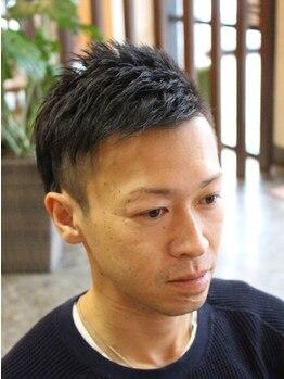 ディスパッチヘアー 甲子園店(DISPATCH HAIR)の写真/休日はもちろん,仕事帰りのビジネスマンも通える【DISPATCH HAIR】ON/OFFキマル大人かっこいいスタイルに。