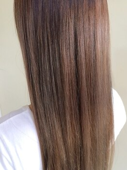 ゴッドヘアーアンドメイク 高崎店(GOD Hair&Make)の写真/【ダメージレスストレートが人気】で広がりやうねりをオールケア!憧れのさらツヤナチュラルストレートに♪
