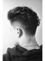 オムヘアーフォー(HOMME HAIR 4)オールバック ソフトフェード HOMMEHAIR4