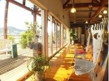 レイツー出島ガーデン(Rei2)の雰囲気(☆窓際の席は自然光たっぷりの最高の眺め!優雅な時間☆癒し♪)