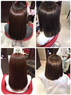 ヘアーメイク カリユ(HAIR MAKE kariyu)ダメージを回復させるカラー