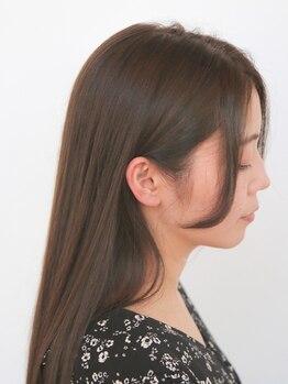 ジュノ オプシアミスミ店(Juno)の写真/やわらか質感☆毛先までまっすぐすぎない自然な仕上がりに◎お客様のお悩みに合わせてご提案!