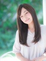 オーブ ヘアー ルル 京都四条通り店(AUBE HAIR lulu)簡単スタイリング♪ナチュラルストレート