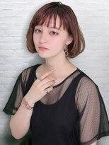 テラスラックスビー 阿倍野アポロ店(TERRACE LUXBE)重めショートボブ