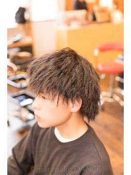 ヘアーメイク ダンス(hair make DANCE)☆メンズ ツイストパーマ 針金 機械巻き☆
