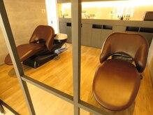 ヘアサロン コレハ(hair salon CoReha)の雰囲気(フルフラットのシャンプー台で寝心地も最高です☆)