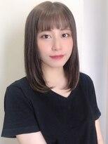 フェイス 池袋店(face)face池袋【eriko】鎖骨下ストレート★