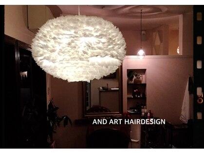 アンドアート ヘアーデザイン(AND ART HAIR DESIGN)の写真