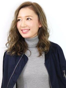 イン東京 佐久平店の写真/髪色一つでお顔の印象もチェンジ☆あなたの魅力を最大限に引き出してくれる!なりたいをカタチに♪