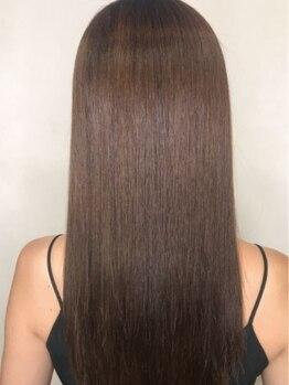ルチア(HAIR&MAKE LUCIA)の写真/【江坂】髪質改善酸性ストレート!弱酸性の薬剤使用で今までにない艶と柔らかさがでダメージレスが叶う♪