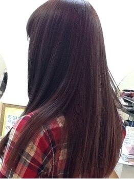ラボ(Labo)の写真/徹底的に髪を労わる施術!できるだけダメージを与えず、くせ毛やダメージを改善致します☆美しい艶髪へ♪