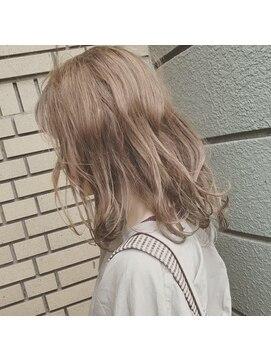 オッヂヘア(oggi hair)インナーカラー