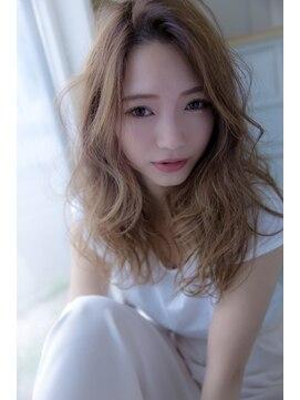 プラウド大人綺麗めスタイル☆明るめアッシュ