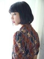 Belle BIANCA 黒髪ミニマムボブ by.竹内