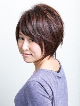 ヘアサロン カミワザ ライズ(hair salon kamiwaza Raiz')の写真/ドライカットだからこそ創れる再現性の高いスタイル◎!お手頃価格で通いやすいのも人気の秘密☆