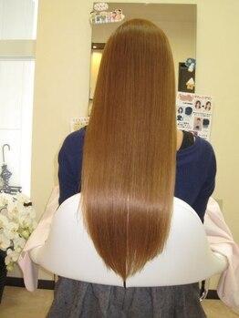 ヘアー リタ ベーシック(hair)の写真/【憧れのサラツヤ髪】お手入れ、仕上げ、スタイリングが簡単になる憧れのストレートヘアーに!