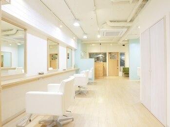 """ヘアー オラン(Hair Orang)の写真/""""ライフワークに馴染むデザイン""""クセや悩みも魅力に変える。東中野駅徒歩1分の美の贅沢空間。"""