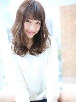 """アグ ヘアー ナイン 東三国店(Agu hair nine)☆""""エアリー感""""あふれる愛されセミロング☆"""