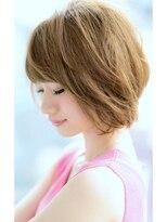 リル ヘアーデザイン(Rire hair design)【Rire-リル銀座-】くせ毛風☆美シルエットショートボブ