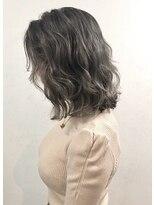 ソース ヘア アトリエ 京橋(Source hair atelier)【SOURCE】シルバーバレイヤージュ