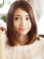 ☆ちょうどいい長さのナチュラルな美髪なロブヘア☆