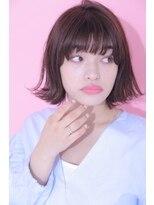 ジーナシンジュク(Zina SHINJYUKU)☆Zina☆切りっぱなし×外ハネボブ