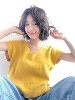 【kate 】☆大宮 ラフカールミディアム×ブラウンアッシュ