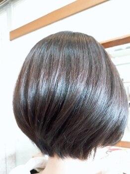 エイエムケイステージ (AMKステージ)の写真/【当日予約OK】丁寧なカウンセリングと再現性の高さに感動♪骨格や髪質に似合わせたショートstyleをご提案