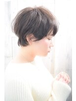【morio池袋】絶壁解消☆頭の形が綺麗に見える前下がりショート